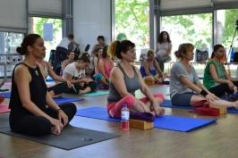 Международен ден на йога в Бургас 2016г.