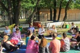 Йога лагер в Китен 2013г.